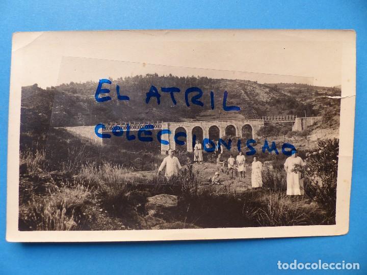 UTIEL, VALENCIA - VISTA - FOTOGRAFICA, AÑOS 1930-40 (Fotografía Antigua - Albúmina)