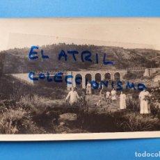 Fotografía antigua: UTIEL, VALENCIA - VISTA - FOTOGRAFICA, AÑOS 1930-40. Lote 129403151