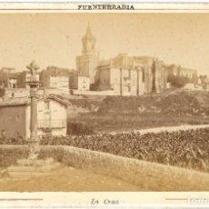 Fotografía antigua: 1870'S / 1880'S FOTOGRAFÍA ALBÚMINA FUENTERRABÍA / HONDARRIBIA GUIPÚZCOA 16,5 X 10,7 CM. Lote 129675931