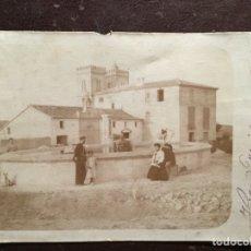 Fotografía antigua: VILLA MERILAGRO. ZONA VALENCIA. 1904. ALBUMINA. Lote 129719778