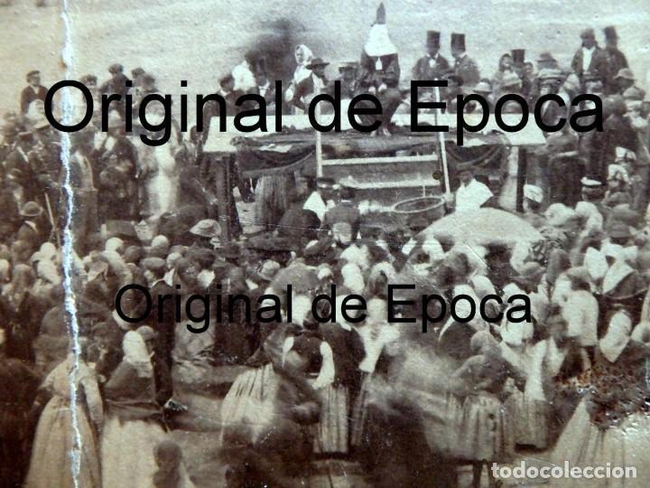 Fotografía antigua: (JX-180811)Fotografía albumina de una ejecución con garrote vil.CASTILLA O EXTREMADURA.1860-1880 - Foto 6 - 129969303