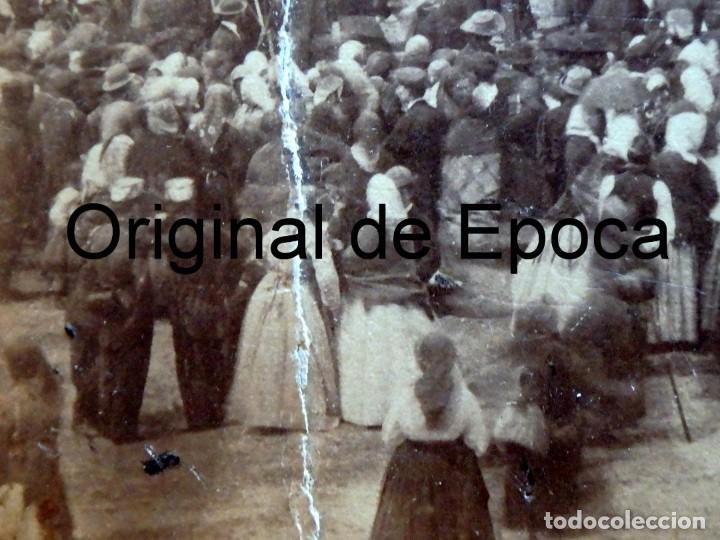 Fotografía antigua: (JX-180811)Fotografía albumina de una ejecución con garrote vil.CASTILLA O EXTREMADURA.1860-1880 - Foto 7 - 129969303