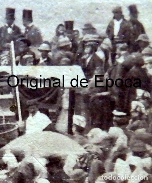 Fotografía antigua: (JX-180811)Fotografía albumina de una ejecución con garrote vil.CASTILLA O EXTREMADURA.1860-1880 - Foto 8 - 129969303