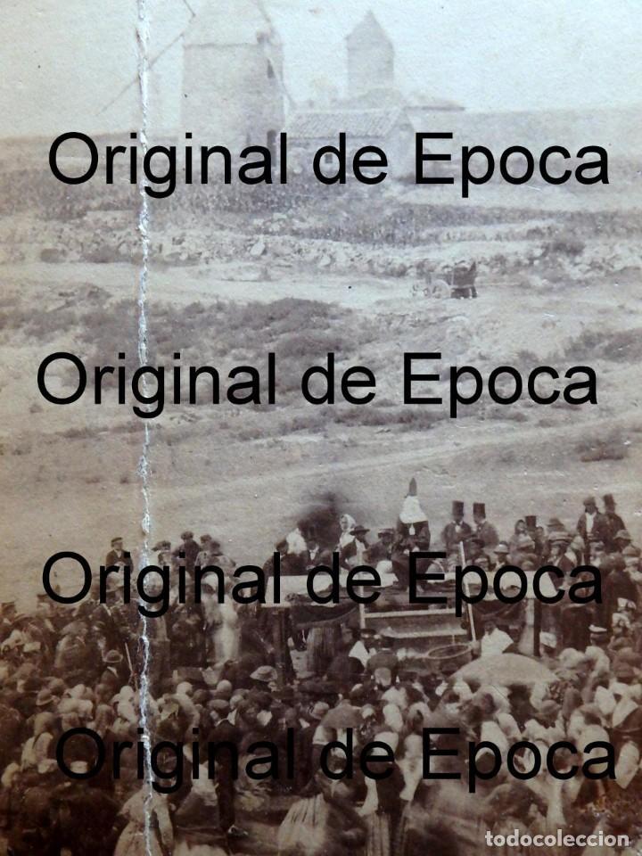 Fotografía antigua: (JX-180811)Fotografía albumina de una ejecución con garrote vil.CASTILLA O EXTREMADURA.1860-1880 - Foto 12 - 129969303