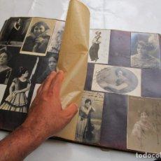 Fotografía antigua - ESPECTACULAR ALBUM ANTIGUO 1910-1930 FOTOGRAFIAS AUTOGRAFIADAS ARTISTAS FAMOSOS DE EPOCA - 130945960