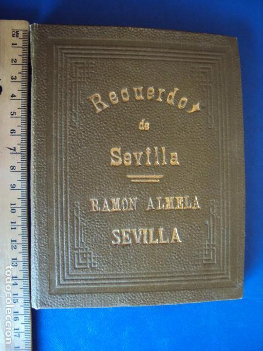 (FOT-180812)REDUERDOS DE LA FERIA SEVILLA - RAMON ALMELA - 12 EXTRAORDINARIAS FOTOGRAFIAS (Fotografía Antigua - Albúmina)