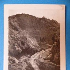 Fotografía antigua: ALCALA DE LA SELVA, TERUEL - RAMBLA ROCHA DEL PINAR, CLICHE Y FOTOGRAFIA - AÑOS 1920-30. Lote 132412582