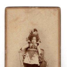 Fotografía antigua: FOTO CABINET - MADRID 1904 ESTUDIO FOTOGRÁFICO DE GIMÉNEZ.. Lote 132422334