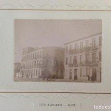Fotografía antigua: FOTOGRAFÍA. FOTO ESQUEMBRE, ELCHE. REDACCIÓN LA CORRESPONDENCIA. ALICANTE.. Lote 132444918