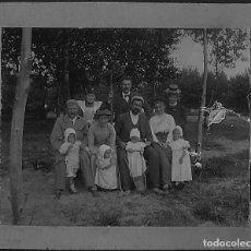 Fotografía antigua: ANTIGUA FOTOGRAFÍA FAMILIAR 1901. Lote 132663522