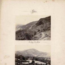 Fotografía antigua: ALBÚMINA.- VISTAS DE MALVEN.(REINO UNIDO ).- MEDIDAS CON PASPARTÚ A 30 X 38 CM. Lote 132917150
