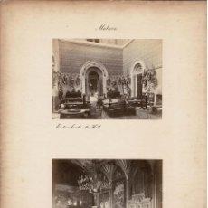Fotografía antigua: ALBÚMINA.- VISTAS DE MALVERN ( REINO UNIDO ).- MEDIDAS CON PASPARTÚ A 30 X 38 CM. Lote 132921378