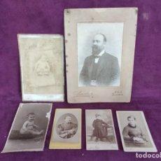 Fotografía antigua: LOTE DE 6 FOTOGRAFÍAS ANTIGUAS, VARIOS TEMAS, ESPAÑA, FRANCIA, PRINCIPIOS XX. Lote 134429330