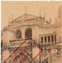 Fotografía antigua: TOLEDO - ALBUMINA - CATEDRAL DE TOLEDO - CASIANO ALGUACIL - 21X14 CM. Lote 134572162