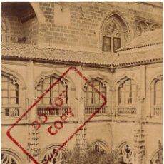 Fotografía antigua: TOLEDO - ALBUMINA - PATIO DE SAN JUAN DE LOS REYES - CASIANO ALGUACIL - 20X15 CM. Lote 134572786