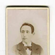 Fotografía antigua: TORTOSA FOTOGRAFIA B. MASDEU (C/. ROSA 3 2º) ANTIGUA FOTO DE CABALLERO -10,5 X 6,5 CMS. APROX.-. Lote 134826010