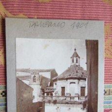Fotografía antigua: 1901- IGLESIA DE PALERMO. SICILIA. ITALIA. FOTOGRAFIA ORIGINAL. Lote 134893386