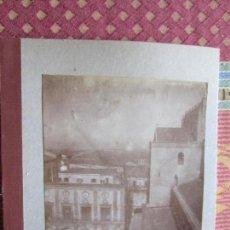 Fotografía antigua: 1901- VISTA PLAZA DE PALERMO. SICILIA. ITALIA. FOTOGRAFÍA ORIGINAL. Lote 134893658