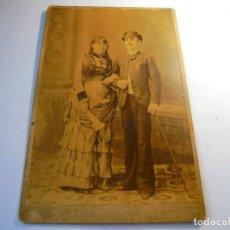Fotografía antigua: MAGNIFICA ANTIGUA FOTOGRAFIA DEL 1885. Lote 134936374