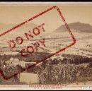 Fotografía antigua: SAN SEBASTIÁN - VISTA GENERAL TOMADA DESDE EL ALTO DE CONCORENEA - AÑO 1880 - JORNET HNOS - 16,3X11. Lote 134951242