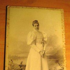 Fotografía antigua: FOTOGRAFIA ANTIGUA: INFANTA DE BORBÓN- S. XIX- ORIGINAL. Lote 135122558