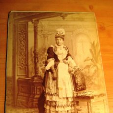 Fotografía antigua: RETRATO DE LA INFANTA ISABEL DE BORBÓN (LA CHATA)- ORIGINAL. . Lote 135127986