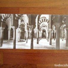 Fotografía antigua: ANTIGUA FOTOGRAFÍA ALBÚMINA CÓRDOBA. MEZQUITA DE CÓRDOBA. . Lote 135139542