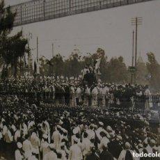 Fotografía antigua: CORONACION DE LA VIRGEN DE LOS DESAMPARADOS. VALENCIA. FOTO ALBUMINA ORIGINAL 1923 ( 29 X 39 CM ). Lote 135170582