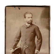 Fotografía antigua: FOTO CABINET - ESTUDIO FOTOGRÁFICO A.RODRIGUEZ. SEVILLA. Lote 135201238