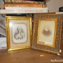 Fotografía antigua: EXTRAORDINARIO LOTE DE DOS FOTOGRAFÍAS DE SACERDOTES DE MALLORCA ENMARCADOS. J. TRUYOL. . Lote 137485274