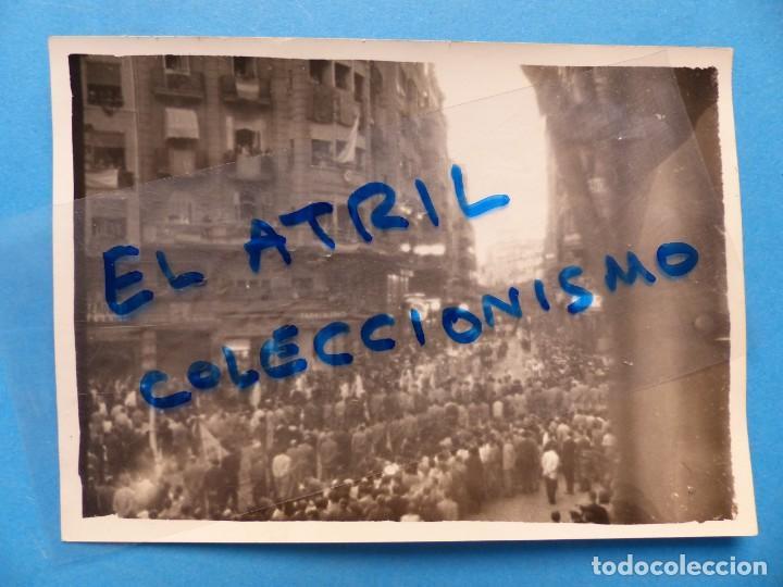 ANTIGUA FOTOGRAFIA DE VALENCIA - VISTA - AÑOS 1930-40 (Fotografía Antigua - Albúmina)