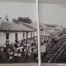 Fotografía antigua: IMPORTANTE FOTOGRAFÍA HISTÓRICA. ENTRADA A JALAPA FUERZAS LIBERTADORAS, CORONEL ESTEBAN MÁRQUEZ.. Lote 137807120