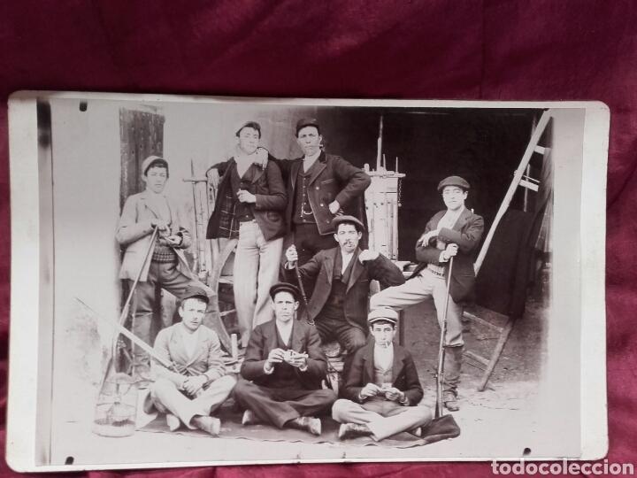 Fotografía antigua: PRECIOSA FOTOGRAFÍA, DE CAZA Y FUMANDO - Foto 2 - 137977470
