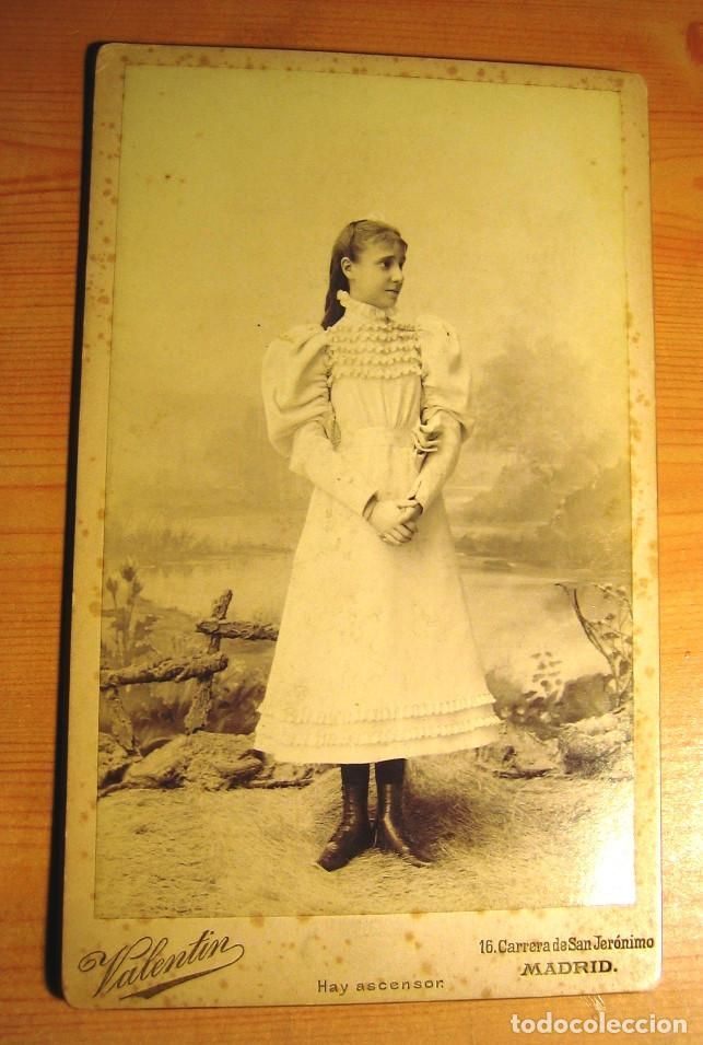 FOTOGRAFIA ANTIGUA: PERSONAJES DE LA REALEZA- INFANTA Mª TERESA DE BORBÓN- S. XIX- ORIGINAL (Fotografía Antigua - Albúmina)