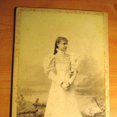 Fotografía antigua: FOTOGRAFIA ANTIGUA: PERSONAJES DE LA REALEZA- INFANTA Mª TERESA DE BORBÓN- S. XIX- ORIGINAL. Lote 138725766