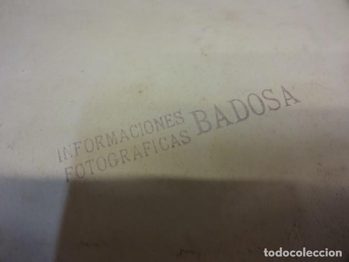 Fotografía antigua: TOROS. Tauromaquia. Foto albumina 24 x 17 ctms. Sello BADOSA. Original años 1920s - Foto 4 - 139208682
