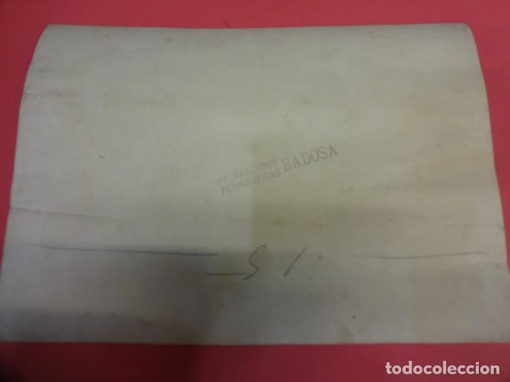 Fotografía antigua: TOROS. Tauromaquia. Foto albumina 24 x 17 ctms. Sello BADOSA. Original años 1920s - Foto 5 - 139208682