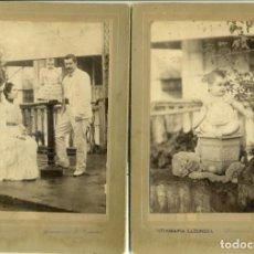 Fotografía antigua: FILIPINAS CAGAYAN DE LUZON. DOS FOTOS GRAN TAMAÑO. AÑO 1903. Lote 139507470