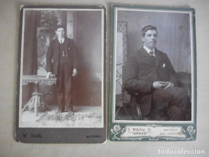 Fotografía antigua: lote 6 viejas albúminas Victorianas Inglaterra Gran Bretaña fotografías retratos - Foto 2 - 139622182