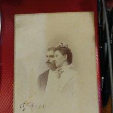 Fotografía antigua: FAMILIARES DEL ESCRITOR FRANCISCO ACEBAL. M. ALVIACH. 16 X 11 CM ALVIACH MADRID. REVERSO BONITO.. Lote 139820910