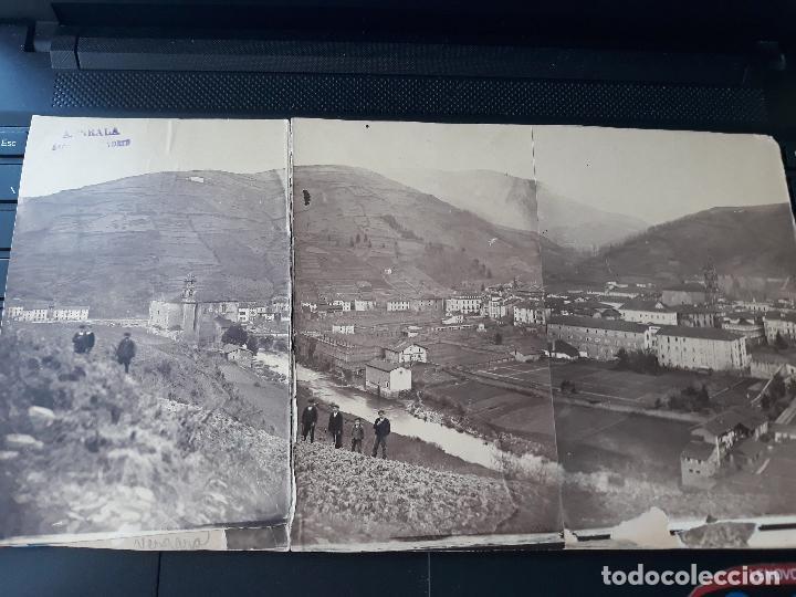 VERGARA GUIPUZCOA VISTA PANORAMICA HACA 1880 ALBUMINA (Fotografía Antigua - Albúmina)