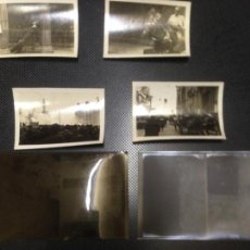 Fotografía antigua: LOTE 4 FOTOGRAFIAS ANTIGUAS FALLAS VALENCIA 1934 + CLICHES NEGATIVOS ORIGINALES . Lote 140145850