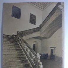 Fotografía antigua: JEREZ DE LA FRONTERA * ESCALERA DEL HOSPITAL * 34 CM X 25 CM * J. ROIG SUCESORA DE J. LAURENT. Lote 140411318
