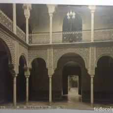 Fotografía antigua: JEREZ DE LA FRONTERA CADIZ * PATIO CASA DE AGREDA * 33 CM X 25 CM * J. ROIG SUCESORA DE J. LAURENT. Lote 140412734