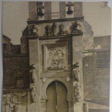 Fotografía antigua: SEVILLA * PUERTA DEL PERDON O DEL P. LOS NARANJOS * 33 CM X 25 CM * J. ROIG SUCESORA DE J. LAURENT. Lote 140428214