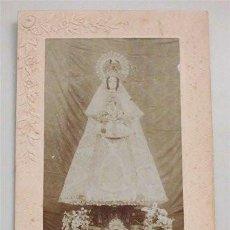 Fotografía antigua: ANTIGUA FOTOGRAFÍA ALBÚMINA DE NUESTRA SEÑORA DE LA PAZ . Lote 140785178
