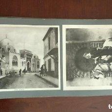 Fotografía antigua: LOTE DE 20 FOTOS ANTIGUAS DEL SIGLO XIX ALGER - LEROUX EDT.. Lote 140794086