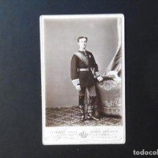 Fotografía antigua: ALBÚMINA DE ALFONSO XII REY DE ESPAÑA. Lote 149785768
