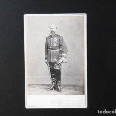 Fotografía antigua: ALBÚMINA DE MILITAR ESPAÑOL. Lote 142015194