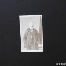 Fotografía antigua: ALBÚMINA DE VICTOR HUGO. Lote 142023934